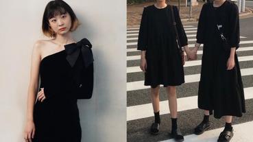 一輩子不用買新衣了?日本妹挑戰「連續 2 個月穿同一件洋裝」超成功!原來這 4 個小物才是關鍵⋯