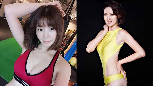 ▲李懿(左圖)、成語蕎身材火辣,是不少綜藝節目常客。(圖/IG、資料照)