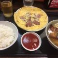 ポーク玉子定食 - 実際訪問したユーザーが直接撮影して投稿した新宿沖縄料理やんばる 本店の写真のメニュー情報
