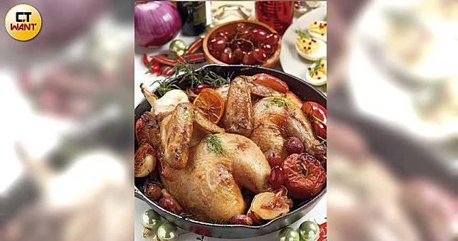 【繽紛派對上桌1】蘋果烤檸檬半雞