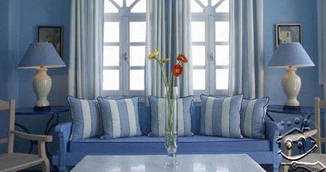 7100 Gambar Rumah Nuansa Biru Gratis Terbaik