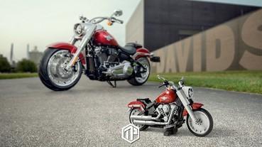 LEGO Creator Expert 推出「10269 Harley-Davidson Fat Boy」!