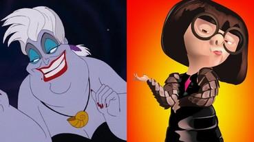 全都有真人原型!從《小美人魚》愛麗兒到烏蘇拉 經典動畫角色的靈感明星原來是「這些人」!