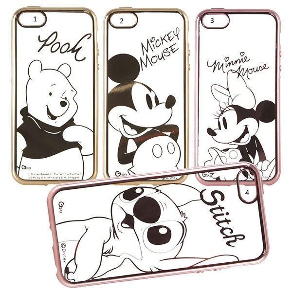 迪士尼Disney 經典人物電鍍全包 iPhone7/7plus專用TPU手機殼 -Stra50010