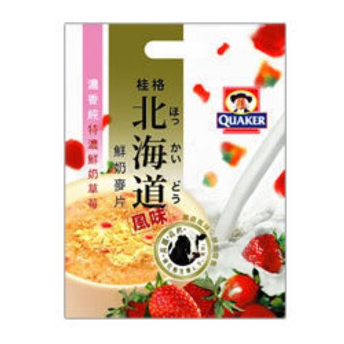 桂格北海道鮮奶麥片-特濃鮮奶草莓12入