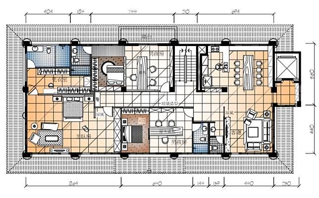 二樓空間平面圖