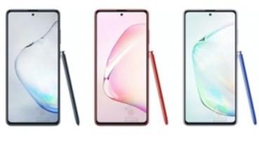 尺寸略小、仍維持搭載 S Pen,三星 Galaxy Note 10 Lite 實機宣傳圖像曝光