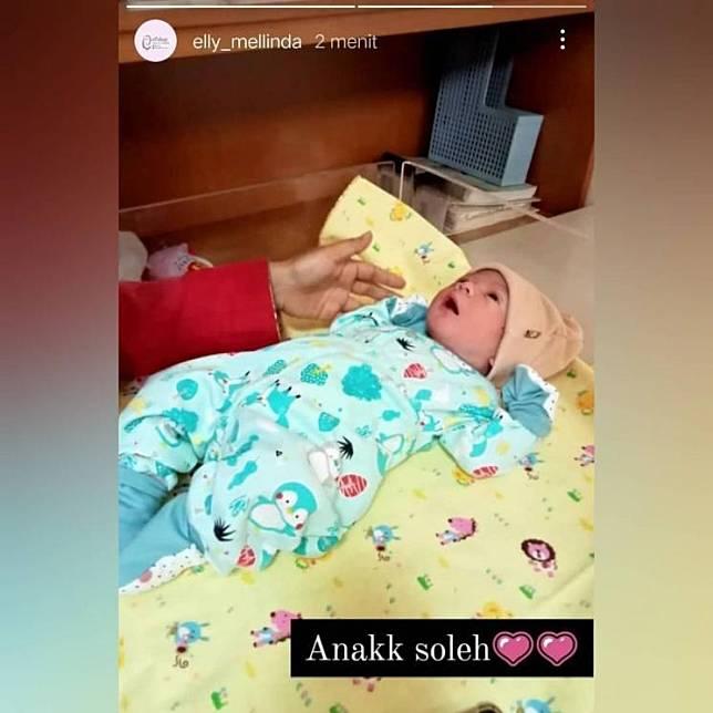 Bayi Rizki DA. (Instagram)