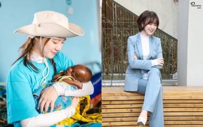 'Nàng cỏ' Goo Hye Sun trẻ đẹp bấp chấp tựa gái 18, tỏa sáng trong hành trình tình nguyện ở Châu Phi