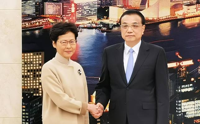 Hong Kong leader Carrie Lam told by Chinese premier to end protests and fix underlying social problems