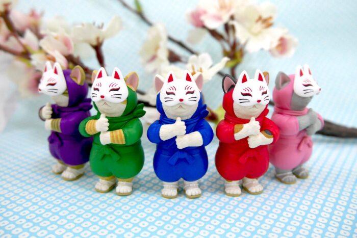 忍者貓咪五色