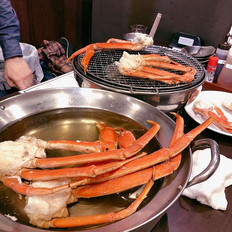 実際訪問したユーザーが直接撮影して投稿した新宿かに料理蟹奉行 新宿東口店の写真