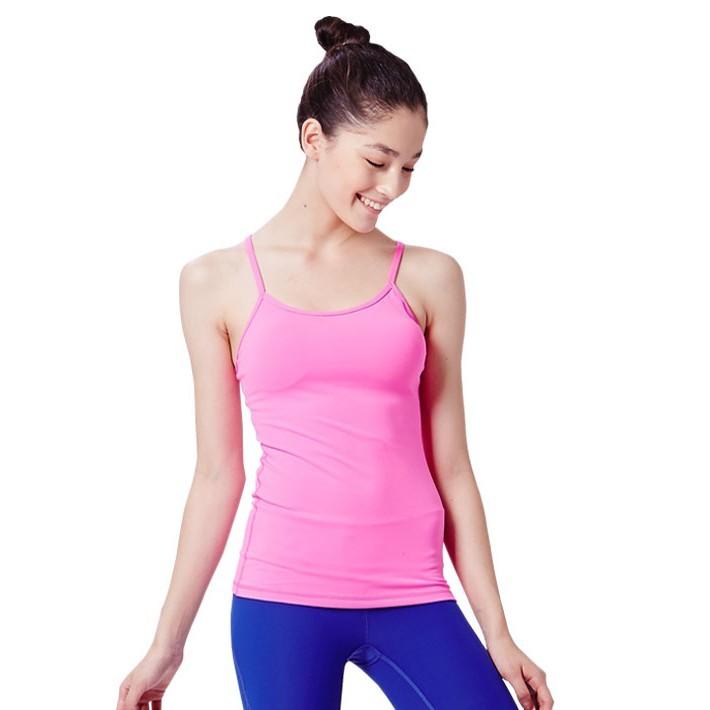 / y字經典款上衣 - 螢光紅 / 呈現出美感與活力的典型設計 肩帶強韌而舒適無壓力 素色百搭款更易展現出瑜伽的內斂氣息 選用中厚度面料強調包覆性對抗炎夏練習不悶熱 顏色:螢光紅 材質:88%尼龍12