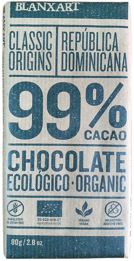 yms 西班牙進口 有機黑巧克力 (99%) (純素) 產品特色: 西班牙原裝進口有機認證 可可豆來自厄瓜多 無麩質純素 成份: 有機可可塊有機可可脂 有機糖有機香草 容量: 80 公克 保存期限: