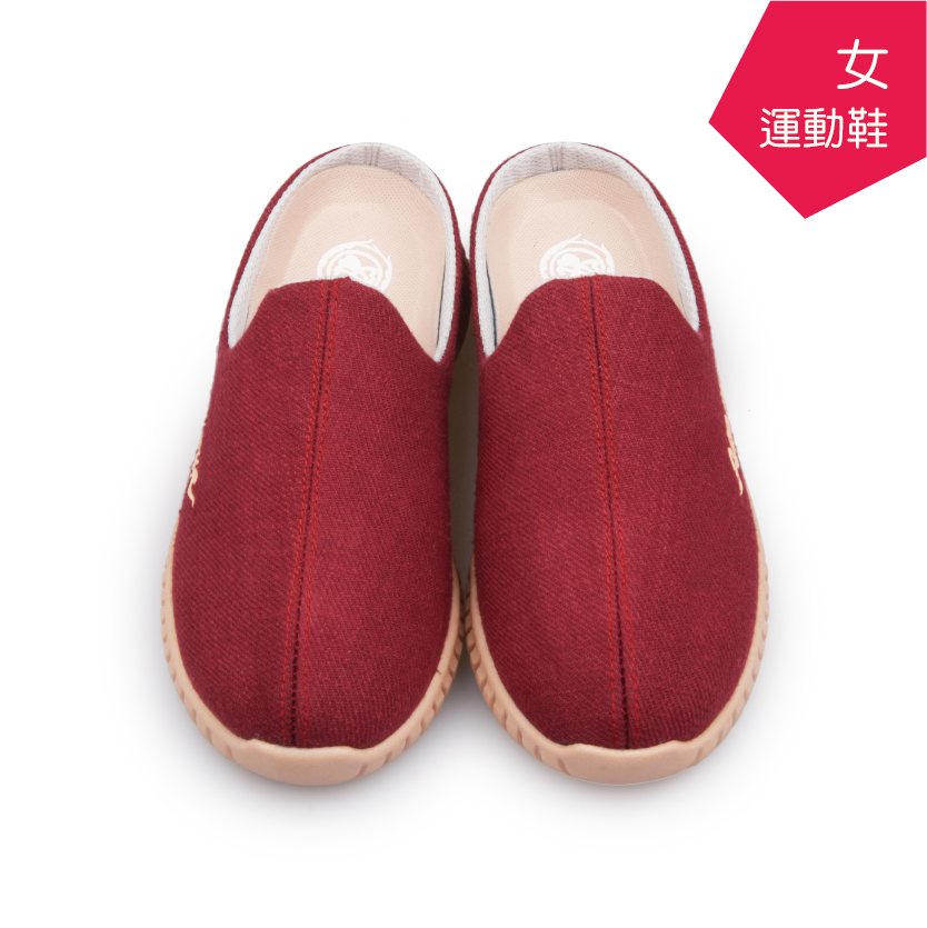 【A.MOUR 經典手工鞋】運動鞋系列 - 紅(8002)