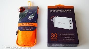 【開箱】MeetMind QC3.0 Type-C充電器與二代升級L形雙面接頭充電線,外出幫行動裝置補充電力好幫手