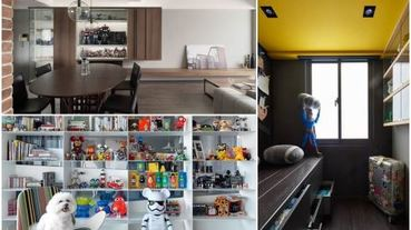 為公仔找美宅!彙整 12 到 30 坪居家的公仔收納術