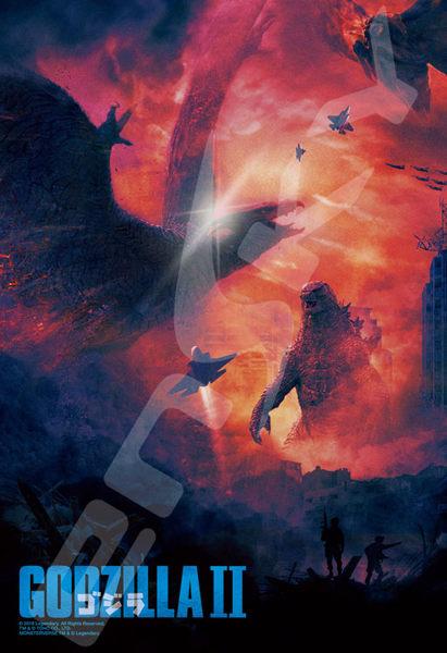 【拼圖總動員 PUZZLE STORY】怪獸之王 /Ensky/哥吉拉II/300P