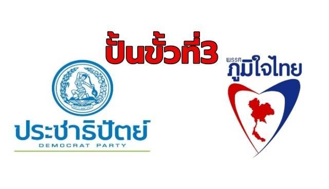 ดิ้น!! ปชป.ดอดเจรจาภูมิใจไทยปั้นขั้วที่ 3 ดึง 'อนาคตใหม่' ร่วม