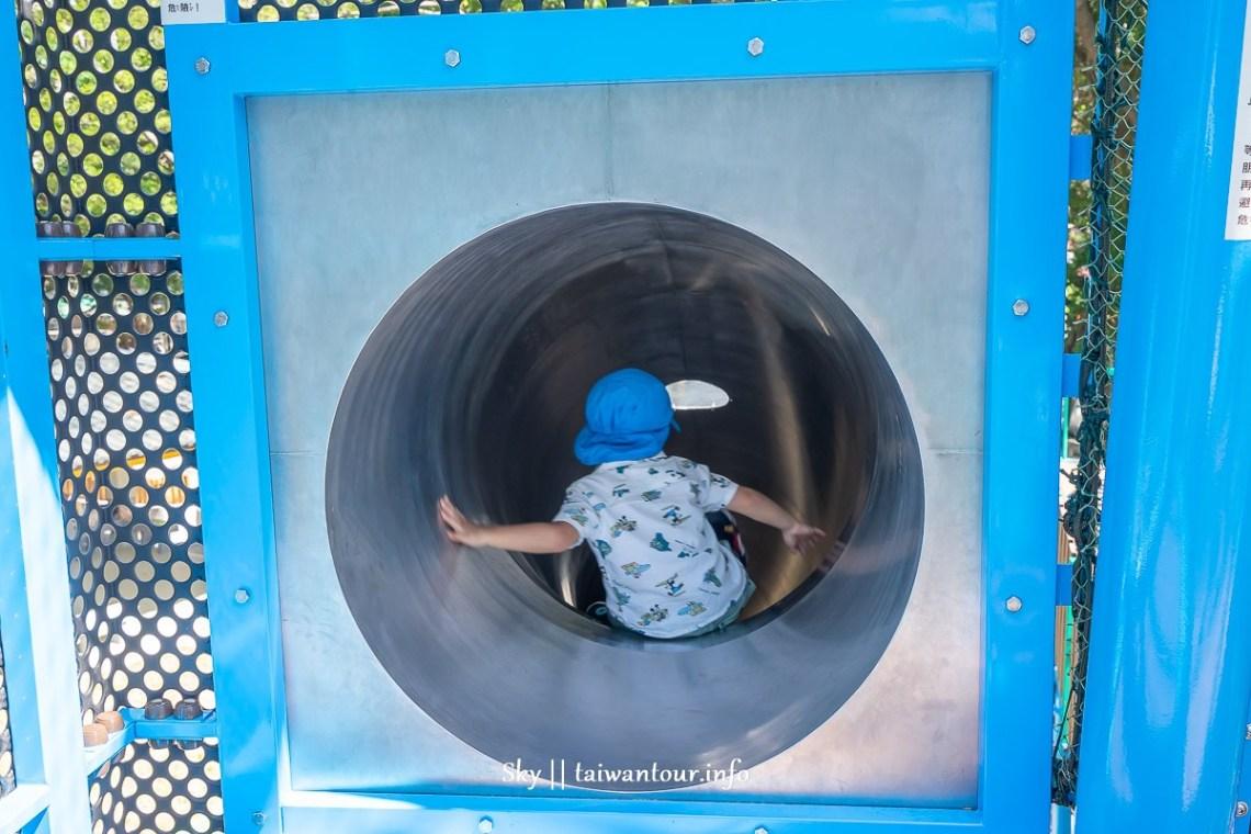 前港公園共融兒童遊戲場溜滑梯入口