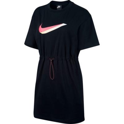 Nike 長裙 連身 洋裝 女 黑色 CU5173010