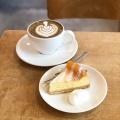 ほうじ茶ラテ - 実際訪問したユーザーが直接撮影して投稿した上井草カフェSLOPEの写真のメニュー情報