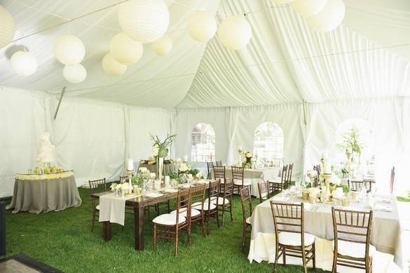 6 Ide Kreatif Dekorasi Tenda Pernikahan Di Rumah Sederhana