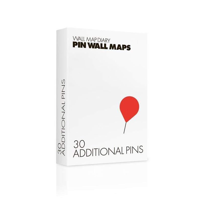 搭配「拼世界地圖」專用圖針,可將明信片、票卷等旅行回憶釘在地圖上,製作旅行日誌。