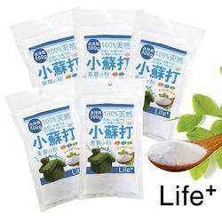 【Life Plus】居家好幫手環保清潔劑/小蘇打粉(五入裝)