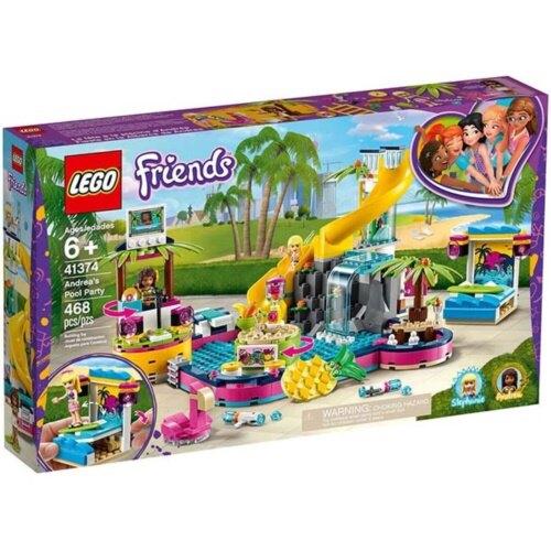 樂高LEGO 41374 Friends 姊妹淘系列 - 安德里亞的泳池派對