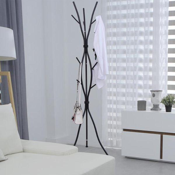 衣帽架鐵藝落地包包衣服掛架子家用簡約現代鐵質衣服掛架臥室客廳