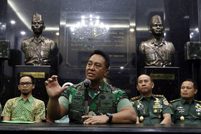 Addressing an audience of army cadets during his visit to the military academy, Army Chief of Staff Gen. Andika Perkasa said the first two cadets who were diagnosed with the disease had sought medical attention for seemingly unrelated symptoms.