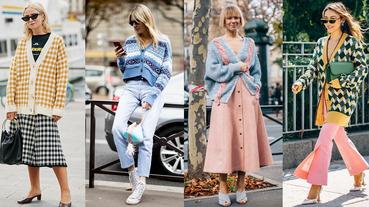 「開襟外套」穿搭推薦Top 8!Chanel、LV、Agnès b...一件單品搞定一週造型!