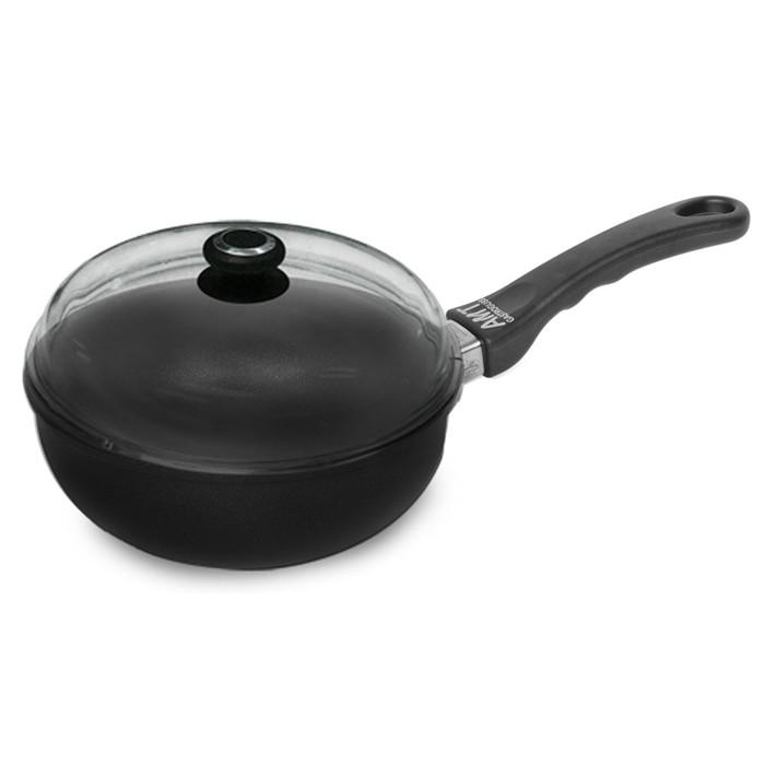 廚房不只是做菜的地方,更是凝聚家人感情與朋友情誼的桃花源。UCOM,讓廚房不只是廚房,讓簡單、健康、美味充滿居家生活中!全球唯一達到5層不沾塗層的不沾鍋,堅持手工鑄造,鍋身鍋底約8-10mm的超厚底部