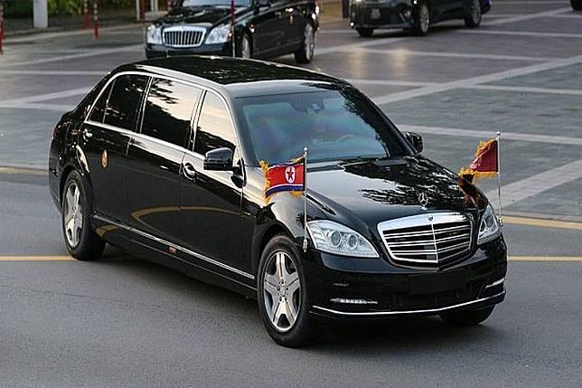 Mercedes Anti Peluru Senilai Rp21,8 Miliar yang Dipakai Kim Jong Un