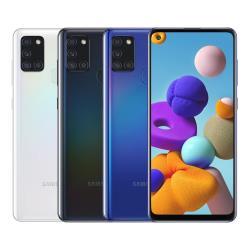 ◎大電量5000 mAh/支援閃電快充|◎支援指紋解鎖/臉部辨識/NFC|◎4G+4G雙卡/獨立三卡槽品牌:Samsung三星型號:A21s(SM-A217)種類:智慧手機ROM/內建儲存空間:64G
