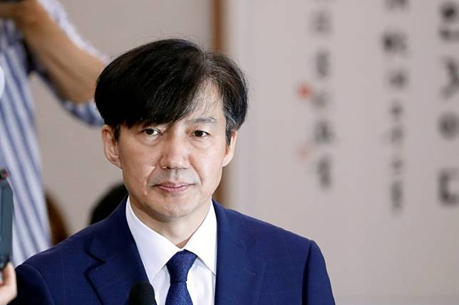 Justice Minister nominee Cho Kuk attends a hearing at the national assembly in Seoul, South Korea, September 6, 2019.