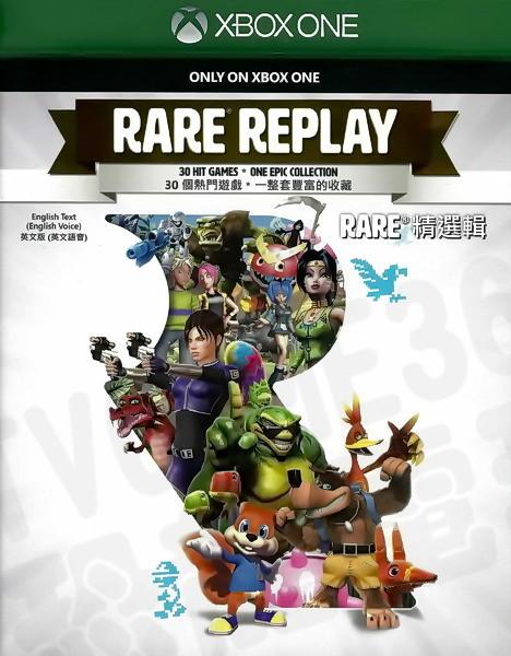 【二手遊戲】XBOX ONE XBOXONE RARE 30週年 精選合輯 RARE REPLAY 英文版 台中恐龍電玩。人氣店家恐龍電玩 恐龍維修中心的XBOXONE、XBOXONE 遊戲有最棒的商