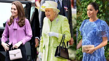 英國皇室的「小眾品牌」愛包特搜!英國女王、凱特王妃與皇室成員們的親民時尚包款盤點
