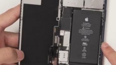 iPhone 12 / 12 Pro 拆解:電池容量不到 3000 mAh