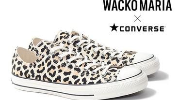 豹紋風情!WACKO MARIA×CONVERSE全新聯乘系列推出