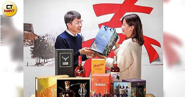【尊貴不貴1】喜氣包裝討吉利 酒商推春節禮盒拚買氣