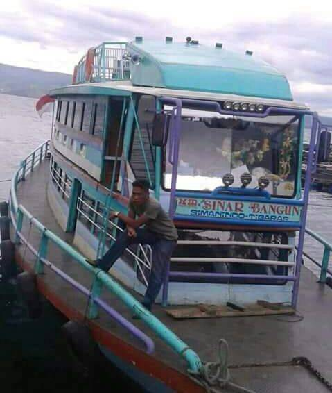 Fakta Sinar Bangun, Kapal Penyeberangan Tradisional di Danau Toba