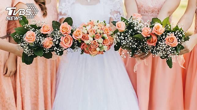 不少女性結婚時都會找自己的閨密或姊妹淘當伴娘。(示意圖/TVBS)