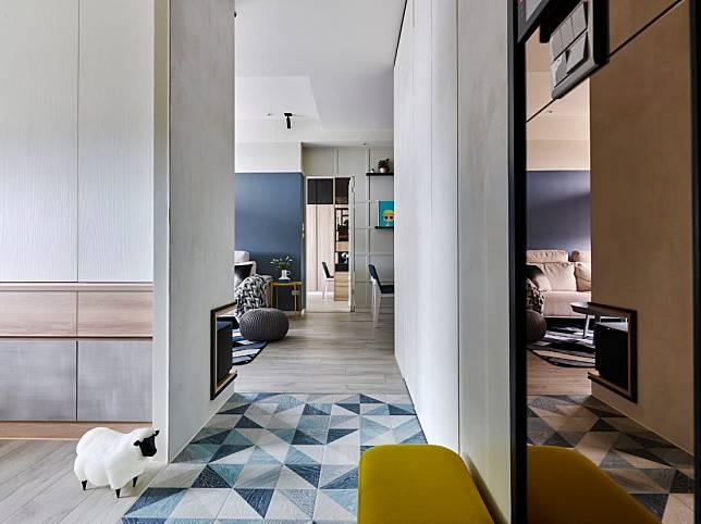 西班牙花磚地板