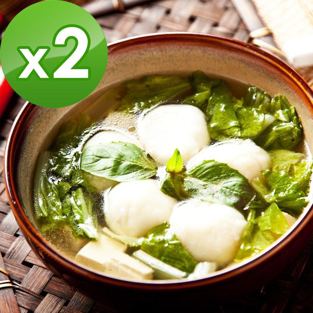 (預購)三低素食年菜 樂活e棧 團團圓圓-滷味湯圓-素食可食(10顆/盒,共2盒)