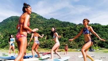 2018 ROXY TAIWAN「Make Waves Move Mountains」探索旅程! 衝浪選手 BAYBAY 帶領 ROXY GIRLS 一起乘風破浪 排山倒海迎接盛夏熱浪