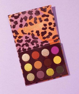 ??【 現貨在台 】Colourpop Good Sport 12色豹紋眼影盤 |CFbeauty