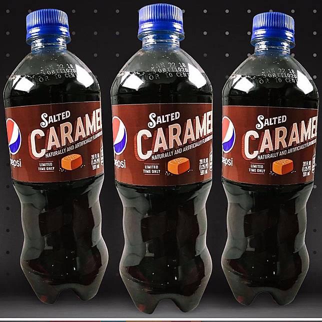 Pepsi salted caramel yang baru (dok. popsugar)