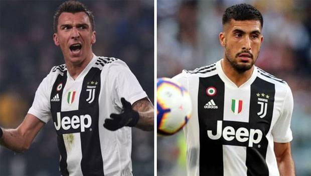 Alasan Juventus Coret Emre Can dan Mandzukic dari Liga Champions
